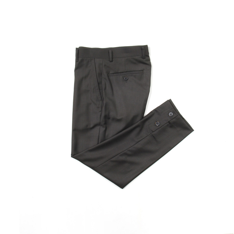 Placket Trousers(Khaki)