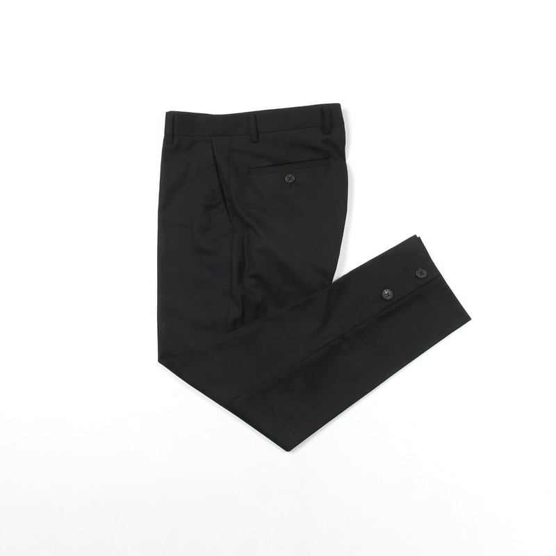 Placket Trousers(Black)