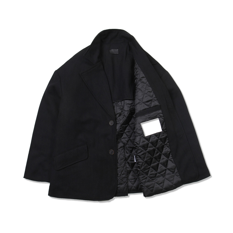 Herringbone Over Suit Jacket(Black)