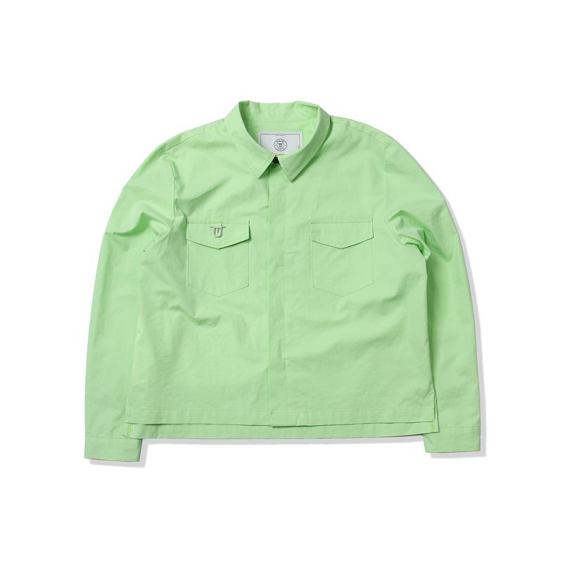 Edit Shirt Jacket(Fluorescent)
