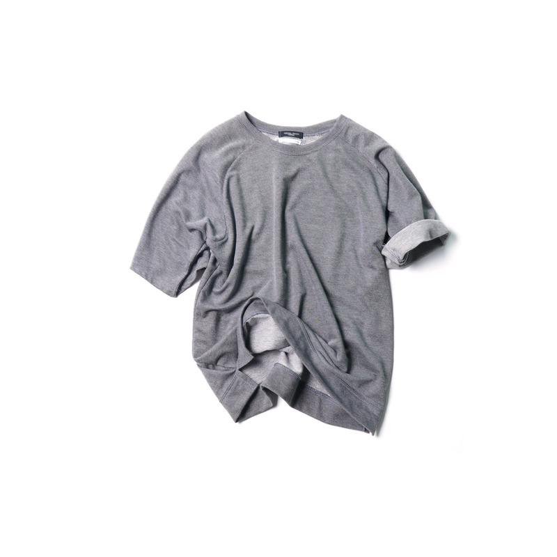 Saddle Sweat Shirts(Gray)