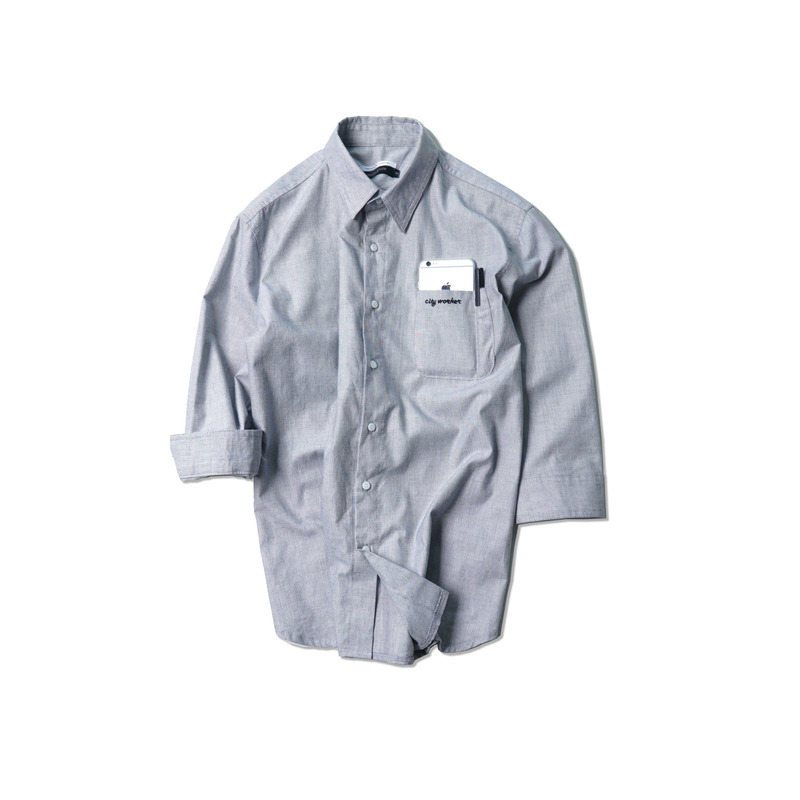 City Worker Shirts(Gray)
