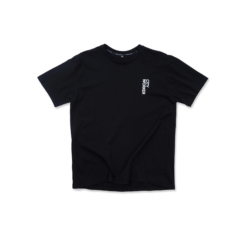 City Worker Tee(Black)