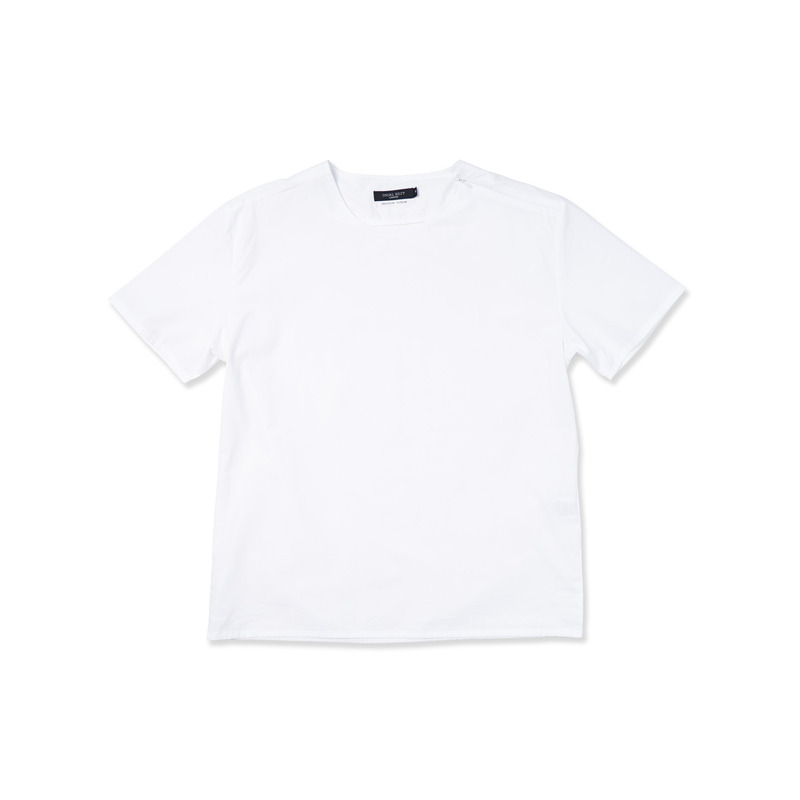 Console Woven Tee(White)
