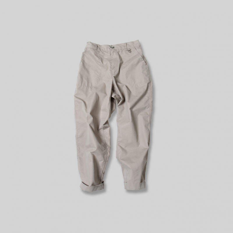 Usual Cropped Pants_Beige