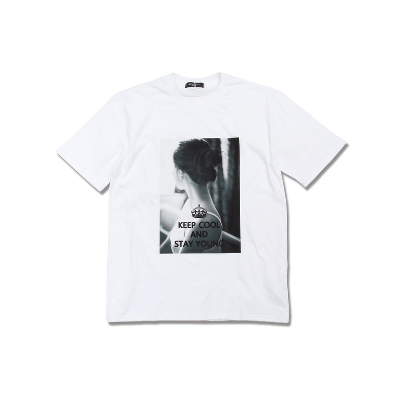 Ordinary Girl Tee(White) + 보통소녀 소책자