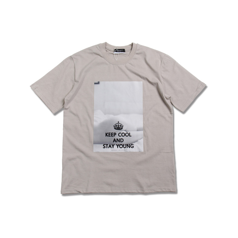 Ordinary Girl Tee(Beige) + 보통소녀 소책자
