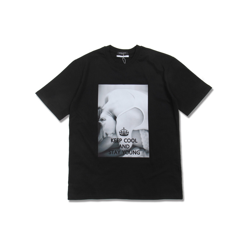 Ordinary Girl Tee(Black) + 보통소녀 소책자