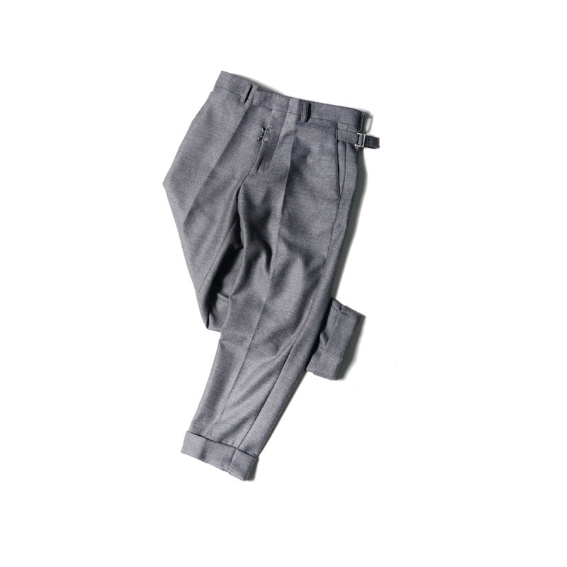 DEFENDER Turn up Trousers(Gray)
