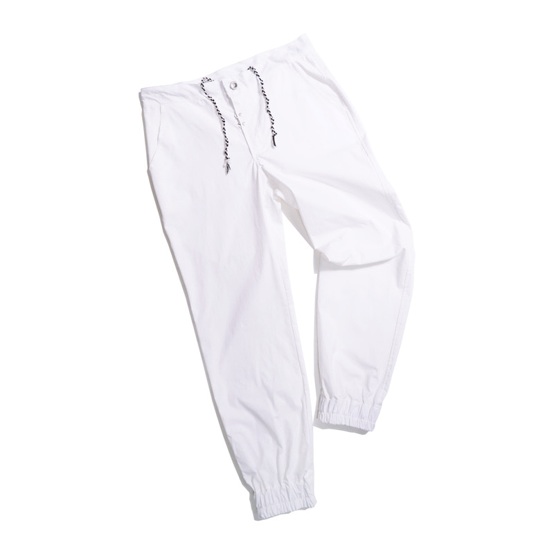 DEFENDER jogger pants(White)
